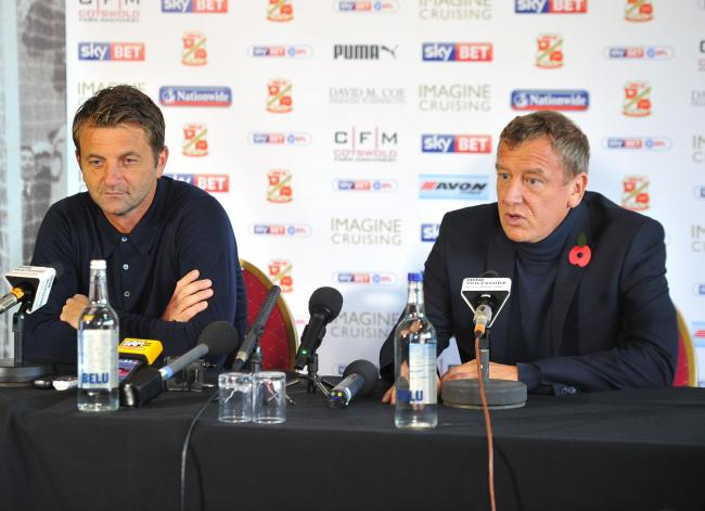 Tim Sherwood 'speaks': How the Swindon Town director of football's post-Bristol Rovers interview should have gone
