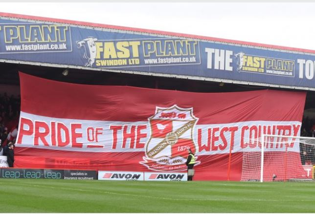 GREAT WESTERN REDS: Derby Day Tifo