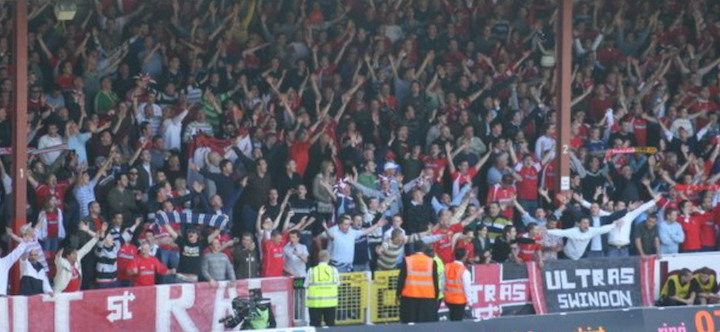 PACK THE TOWN END: Trust STFC urges Swindon fans to back the boys in our relegation fight