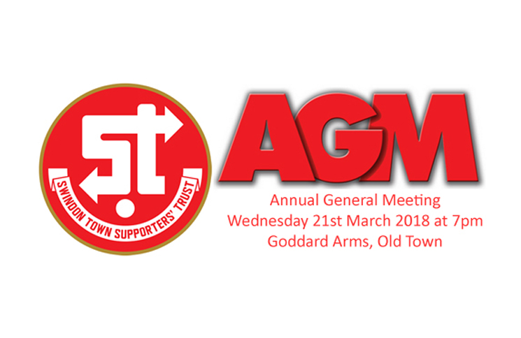 Weds 21st March 2018 – TrustSTFC AGM