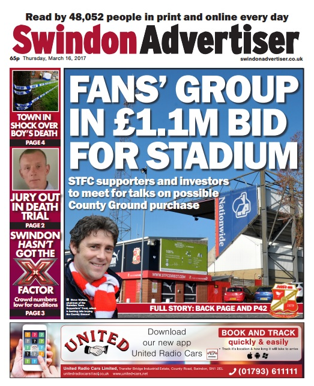 Mar 17 – Fans asked about County Ground