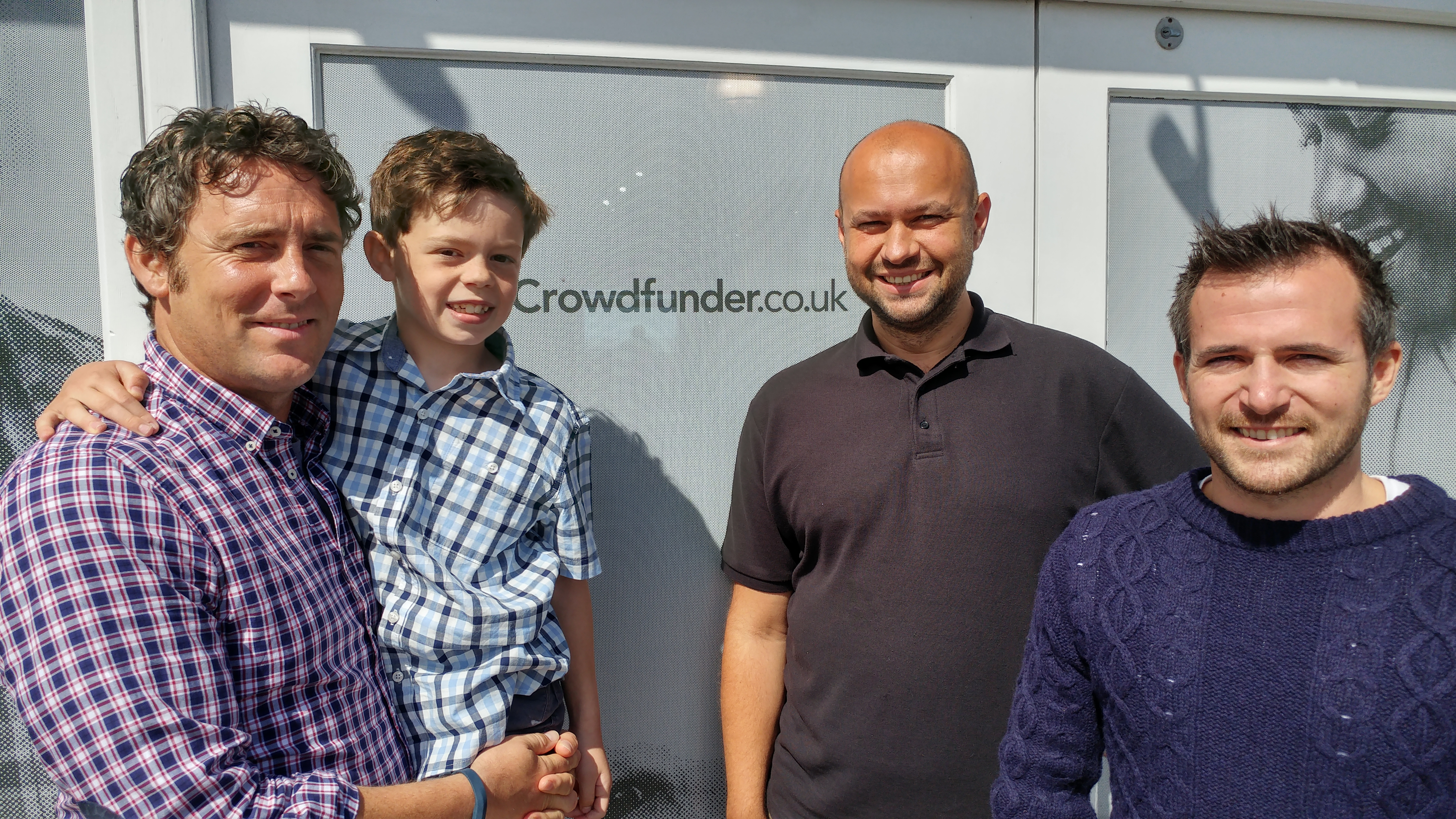 Aug 17 – Meeting with Crowdfunder