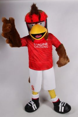 PRESS RELEASE : New Rockin Robin Suit for STFC Mascot Jointly Funded by TrustSTFC and Official Supporters Club