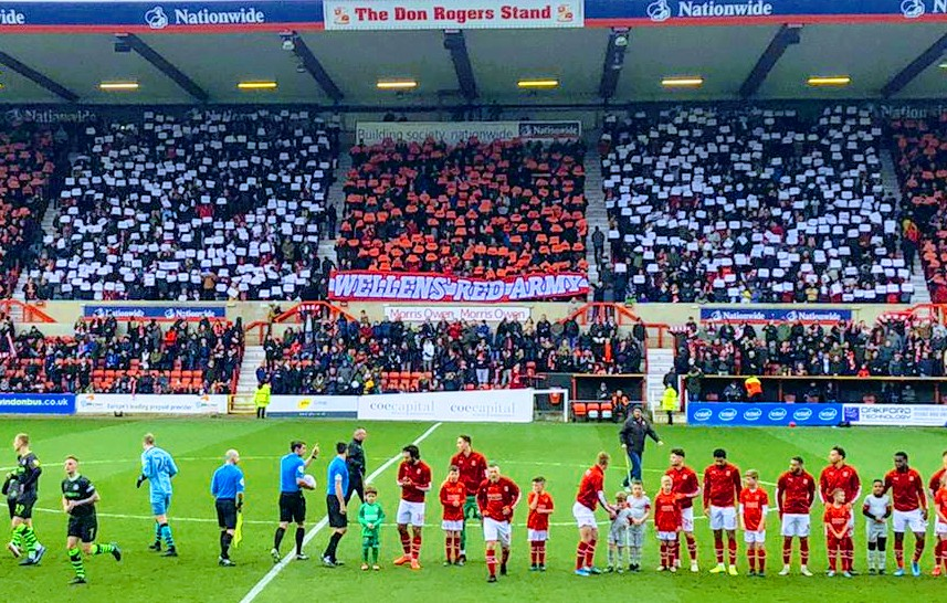 County Ground Tifo Display – FGR Game – Images