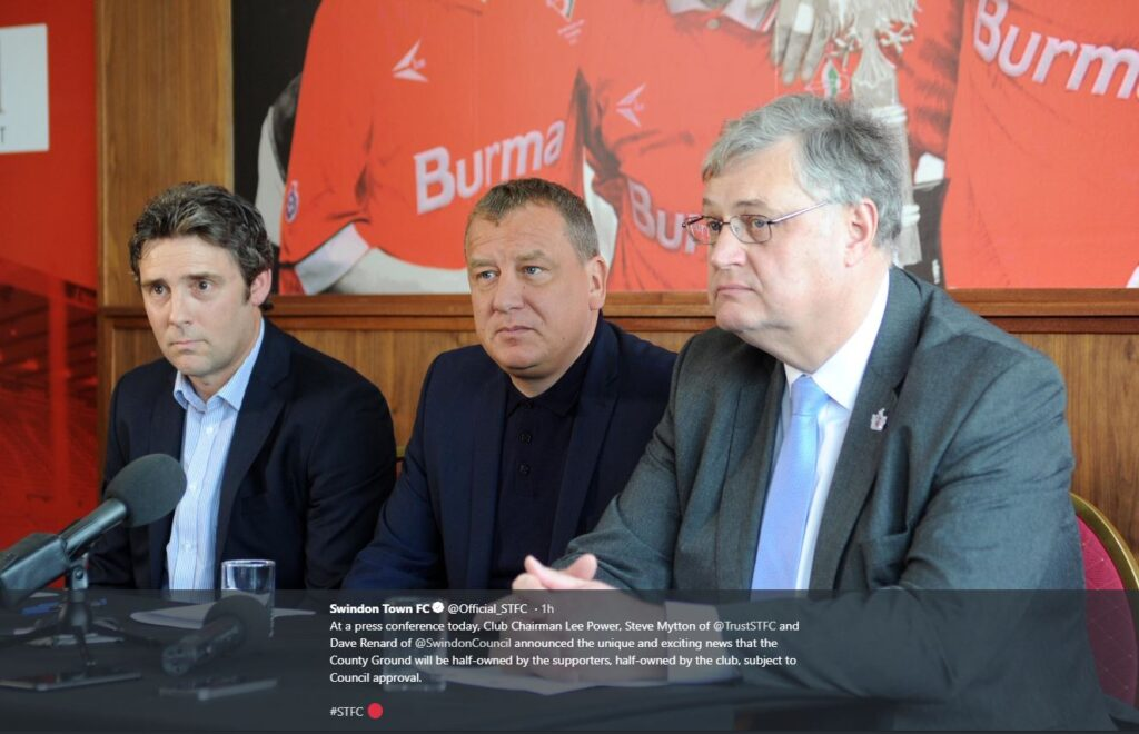 Mar 19 – County Ground Announcement