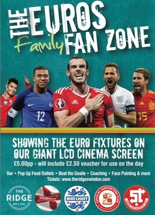 TrustSTFC & The OSC team up with The Ridge for the EUROs